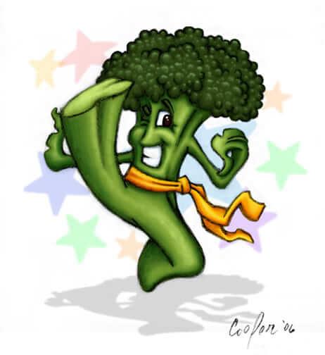 Blucko Lee (Healthy Vegetables) Sketch