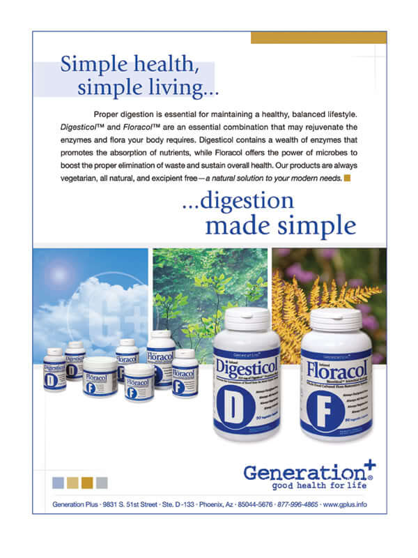 Generation Plus - Full Page Ad