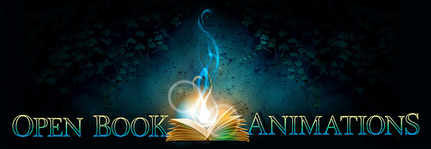 Open Book Animations Logo