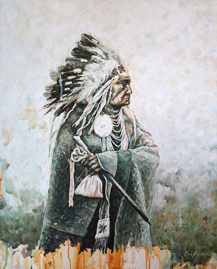 Once a Proud Warrior Chief